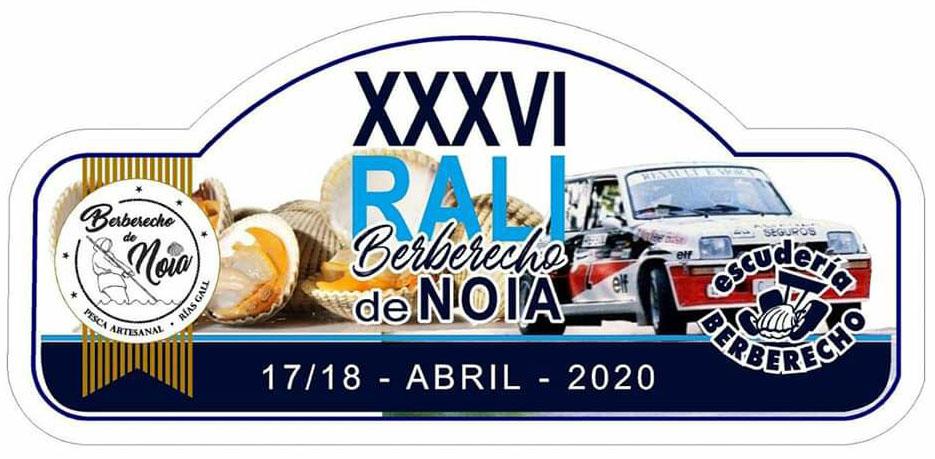 Placa Rally de Noia 2020