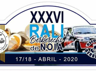 Placa Rally de Noia 2020