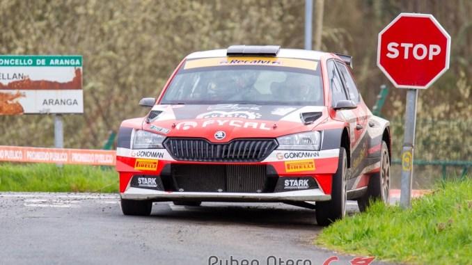 Victor Senra gana el Rally de A Coruña 2020