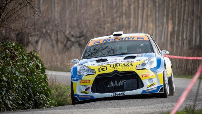 Alberto Meira en el Rallysprint de Cacabelos 2020