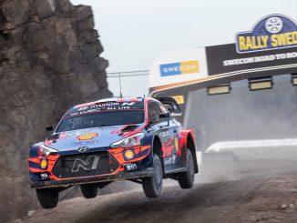 Tanak en el Rally de Suecia 2020
