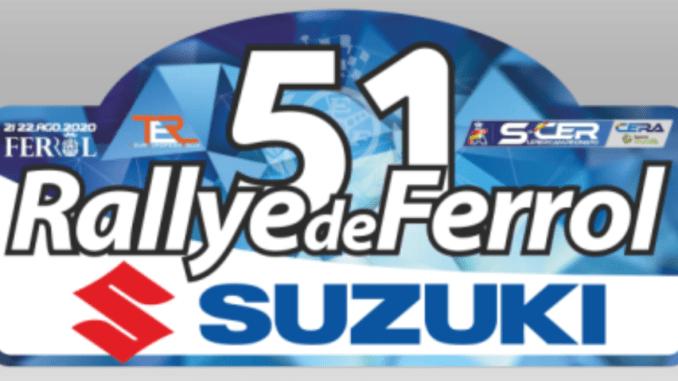 Placa Rally del Rally de Ferrol 2020