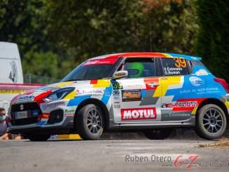 Victor Colorado y Osel en el Rally de Ourense 2020