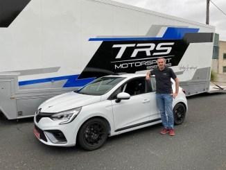 Clio 5 TRS en el Rally de Ourense 2020