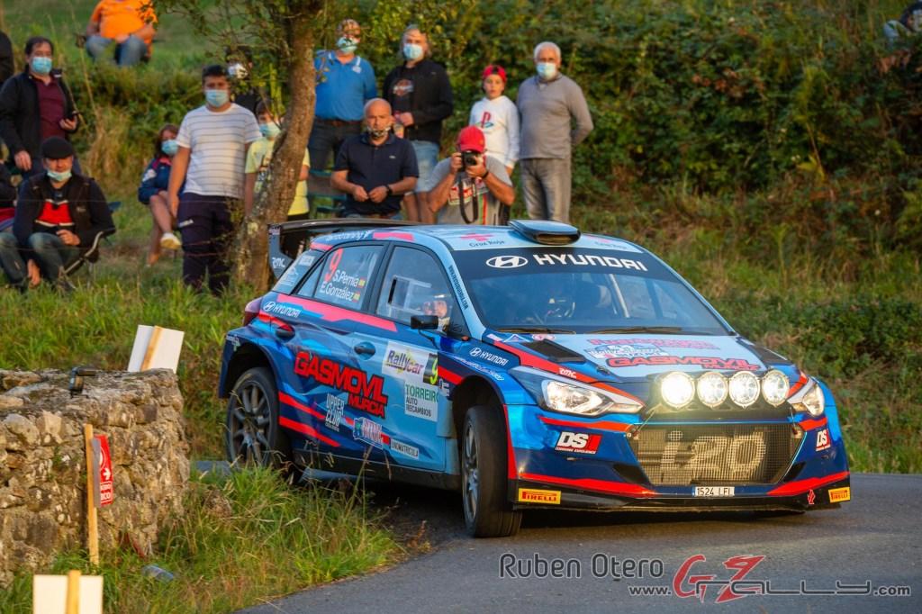 Surhayen Pernía en el Rally de Ferrol