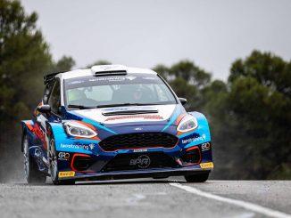 Jan Solans con Proracing Competición en el Rally de la Nucía