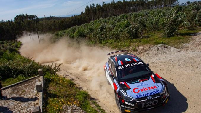 Ivan Ares en el Rally Tierras Altas de Lorca
