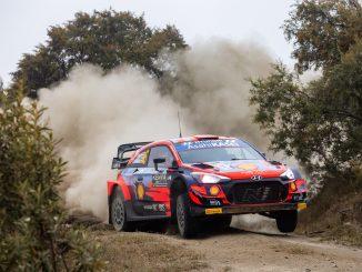 Dani Sordo en el Rally de Kenia 2021