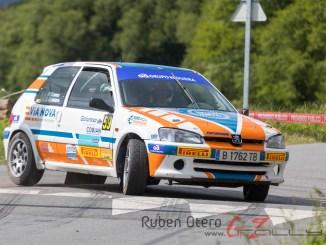 Pablo Blanco e Ian Quintana dominan un duro Rallye de A Coruña en el Volante FGA