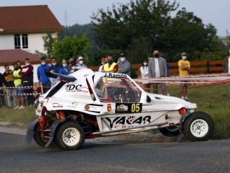 Javier Ramilo en el Rallymix de Touro