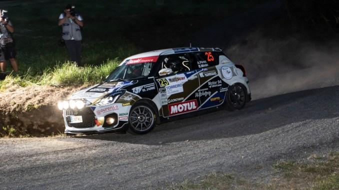 Perez Mirón en el Rally da Agua
