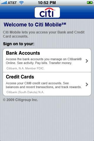 Citi Mobile App