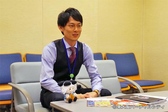 「東大阪市経営企画部 企画室」前田貴之 主任
