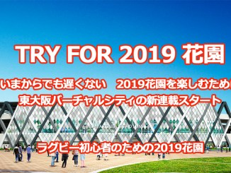 TRY FOR 2019 花園(花園ラグビーワールドカップ2019)