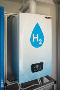 H2 boiler without CO2 from Remeha.