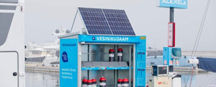 The first-ever smart hydrogen cabinet unveiled in Estonia