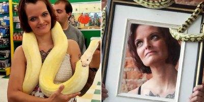 Une mère trouvée trouvée étranglée à mort par un python dans sa maison remplie de 140 serpents