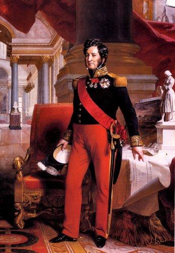 """Dans la vraie réalité, Louis-Philippe est le dernier roi des Français. """"Oui mais euh c'était un usurpateur d'abord eh"""", """"mais non pisque un espingouin pouvait pas régner c'est les Orléans qui ont tout récupéré"""", """"oui mais euh Napoléon il a toujours des descendants aussi et empereur c'est plus classe que roi nanana""""."""
