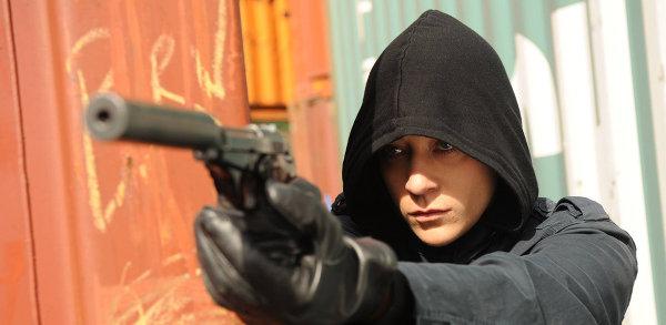 Un tueur insaisissable, une jeune fille innocente, non c'est pas Léon. photo Sky Productions