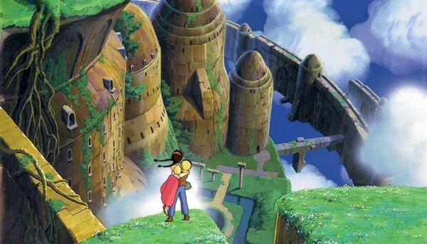 La verdure grandiose, déjà présente dans Nausicaä de la vallée du vent, une vraie signature de Miyazaki. image studio Ghibli