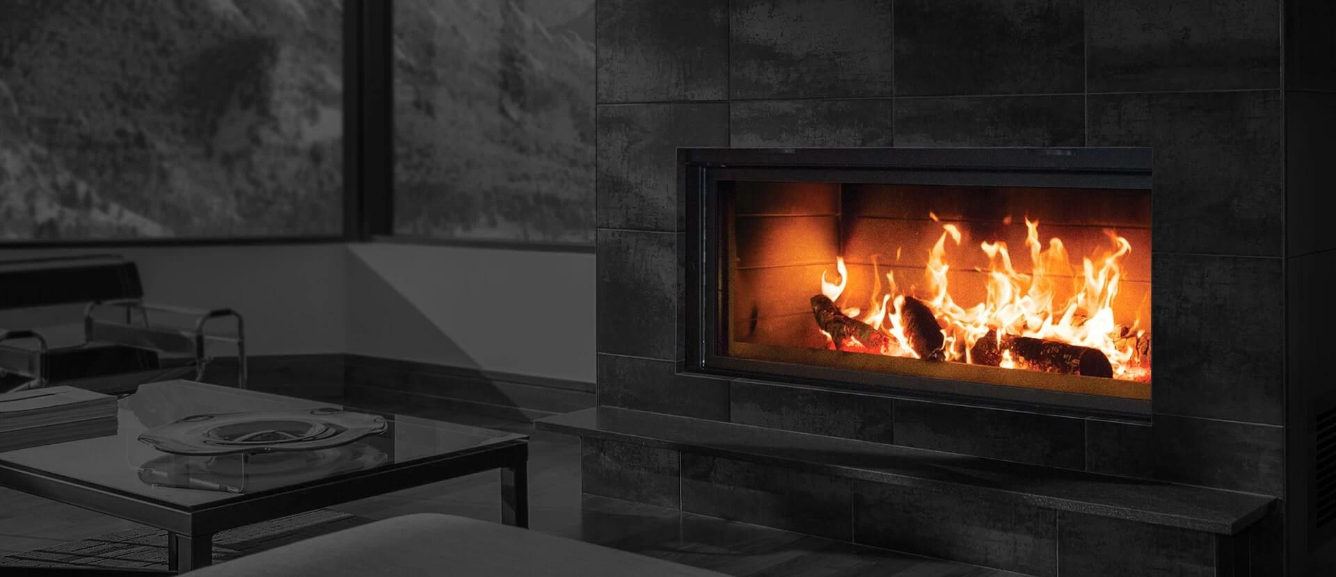 Renaissance Fireplaces Linear 50 Wood Burning Fireplace