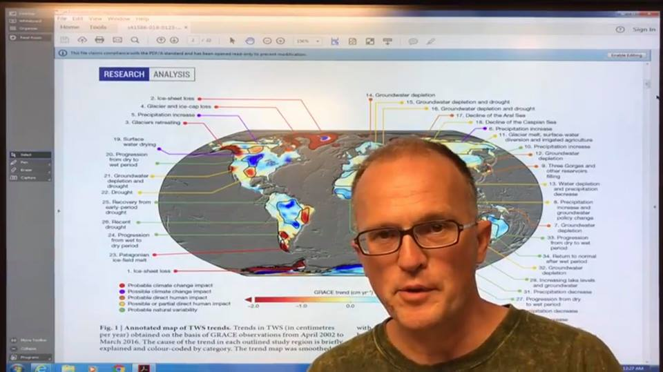 photo: Paul Beckwith - Severe Global Water Cycle Shifts from Abrupt Climate Change