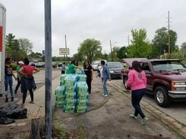 photo from Flint: Local sorority raises $20,000 to help Flint's water crisis