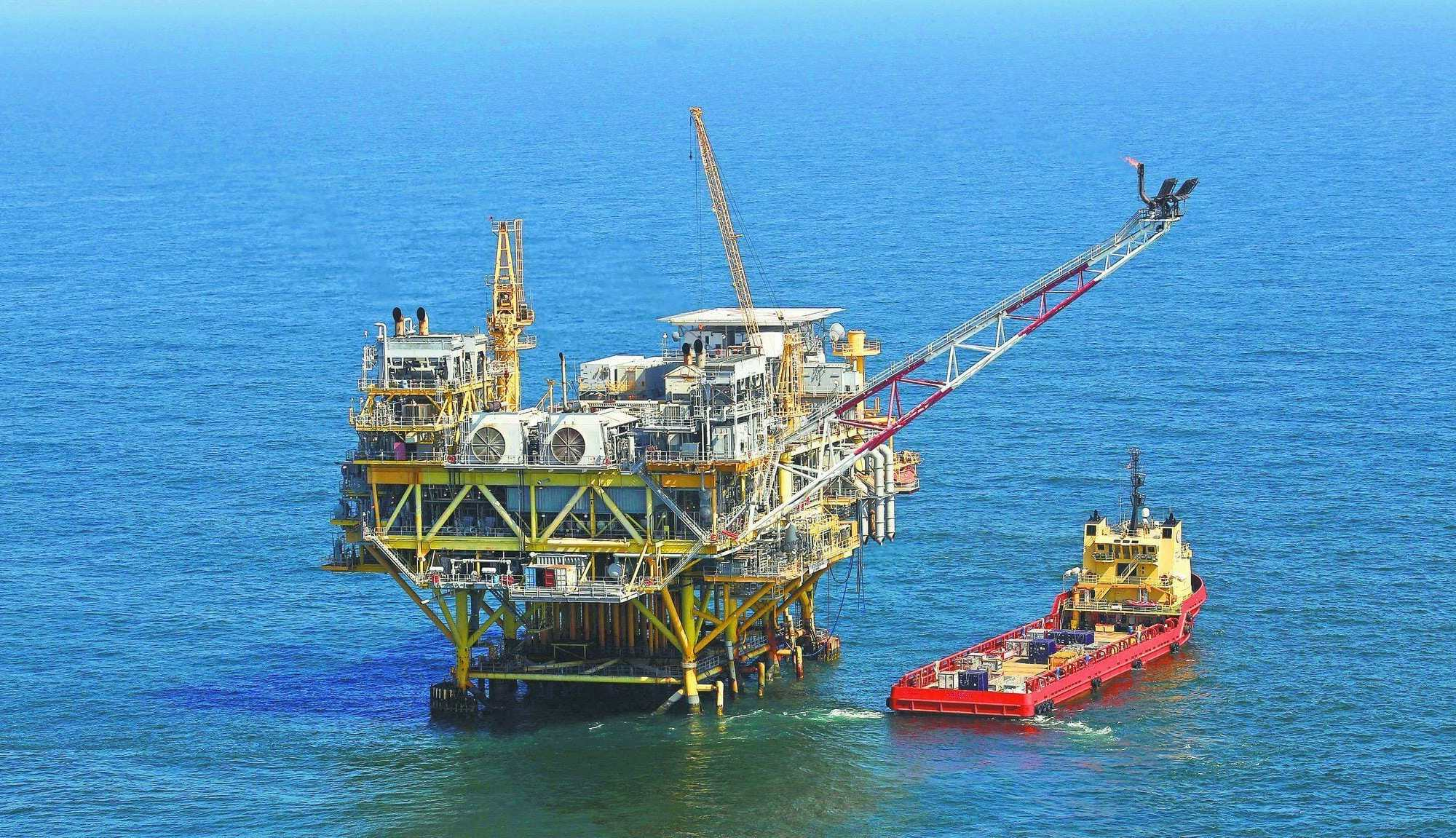 photo: opal drilling platform. Gulf of Mexico oil spill much worse than thought, federal lawyers say