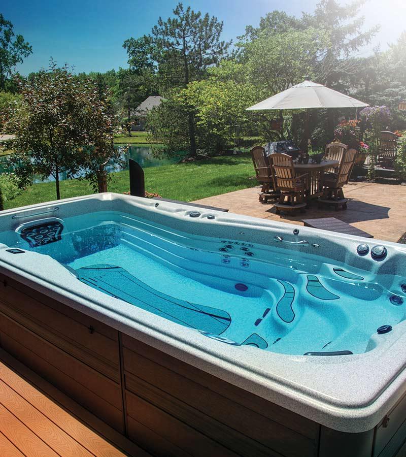 a swim spa