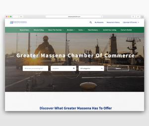 Responsive web design in Massena - H3 Designs
