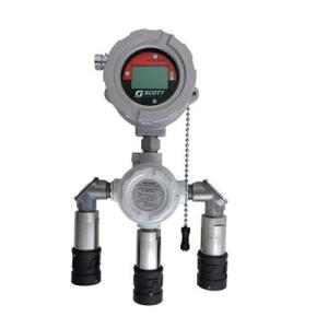 Gasdetektor Scott Meridian 3 gaser