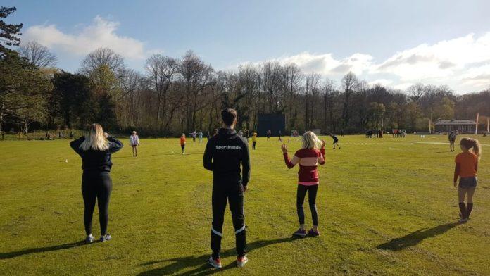 InHoland student tijdens sportdag. Ingezonden foto SportSupport.