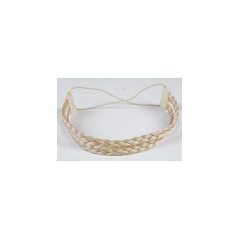Haarband aus Kunsthaar - doppelreihig hellblond