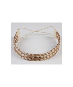 Haarband aus Kunsthaar - doppelreihig mittelblond