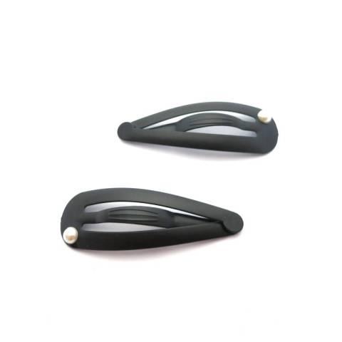 Klick-Klack Haarspange schwarz