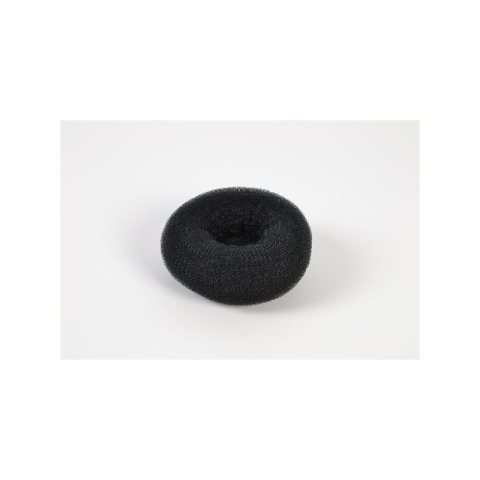 Knotenringpolster mittel schwarz