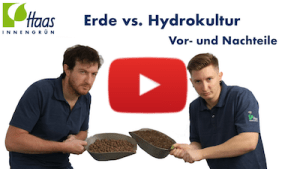 Erde oder Hydro YouTube Icon zum Video