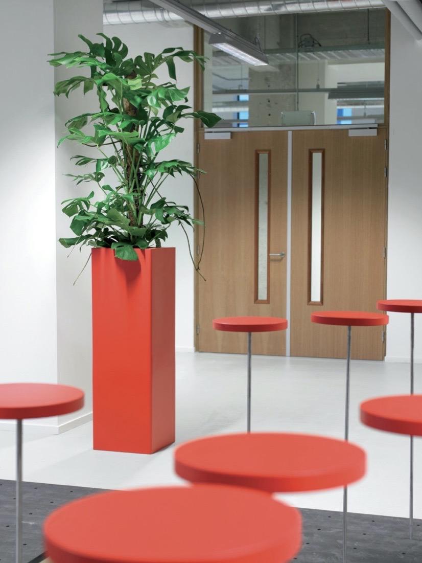 Jago Kunstoff Prestige Blumentopf - Haas Innengrün