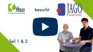 Haas Innengrün besuch Jago Kunstoff unser Lieferant