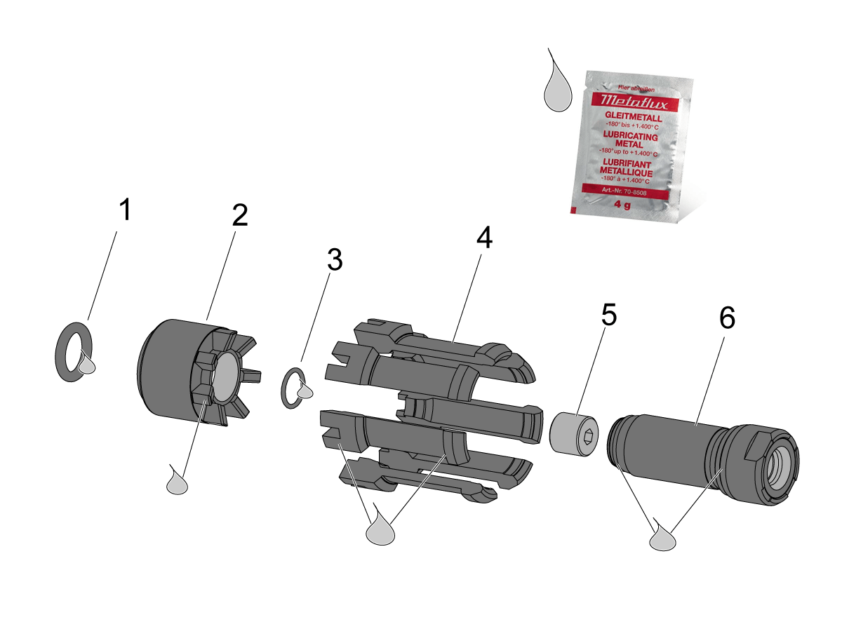 Hsk A63 Spindle Clamping Unit Replacement