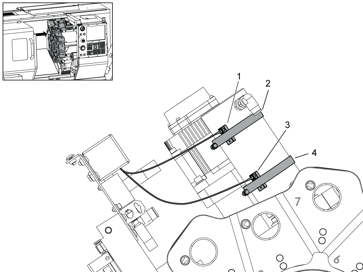 Sensores De Bloqueo Y Desbloqueo De La Torreta