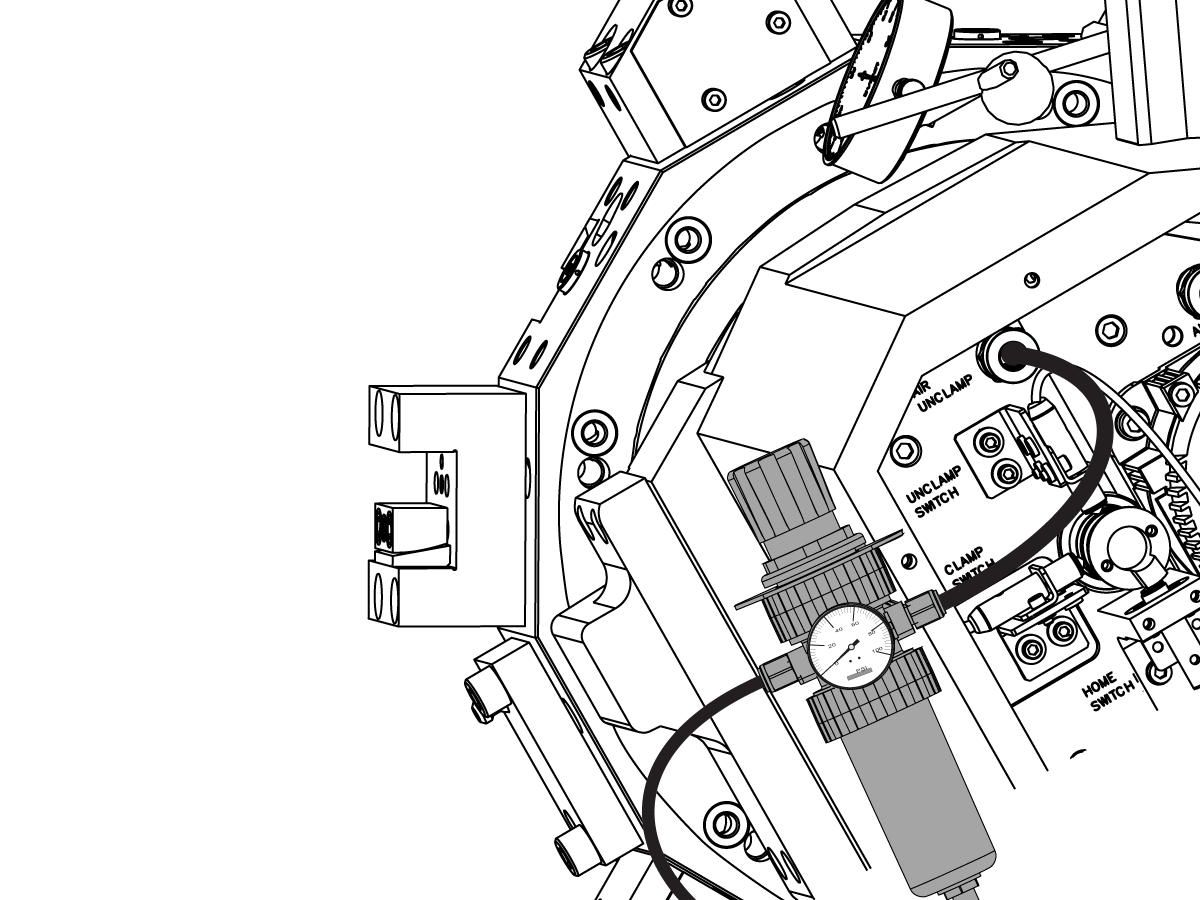 Turret Indexer Assembly