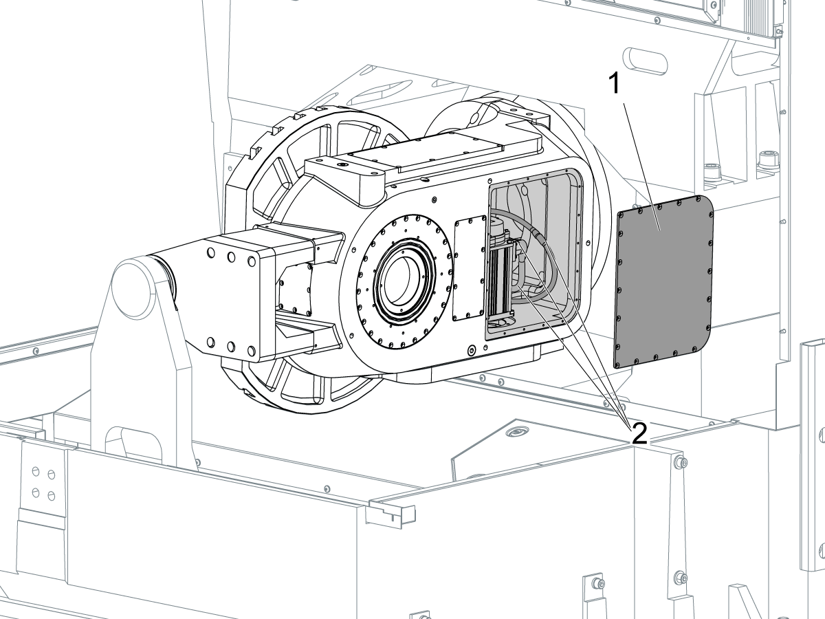 B Axis And C Axis Assembly