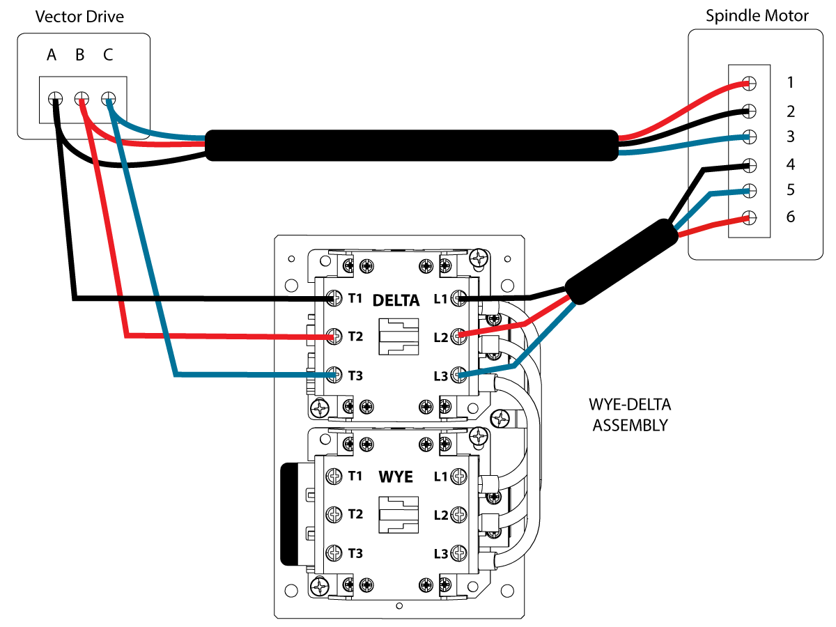 Y Delta Connection Diagram