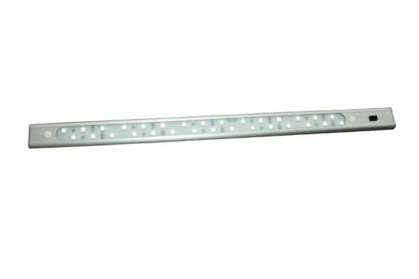 30 LED Bar 50cm aluminium, wit 4100K, met sensor schakelaar