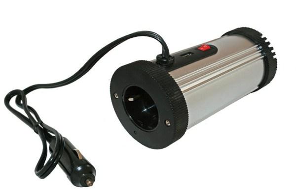 Tube 200W omvormer 12V/230V met USB