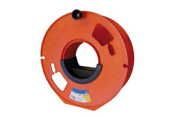 Handhaspel voor kabel oranje