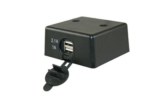 USB opbouw lader 12V