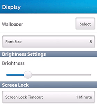 How To Change The Wallpaper On A BlackBerry 10 Smartphone