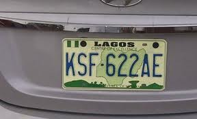 The FRSC New Number Plate